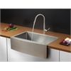 RVC2433 Stainless Steel Kitchen Sink and Stainless Steel Faucet Set