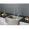 RVC2456 Stainless Steel Kitchen Sink and Chrome Faucet Set
