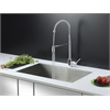 RVC2601 Stainless Steel Kitchen Sink and Chrome Faucet Set