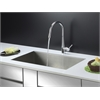 Ruvati RVC2602 Stainless Steel Kitchen Sink and Chrome Faucet Set