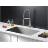 Ruvati RVC2604 Stainless Steel Kitchen Sink and Stainless Steel Faucet Set