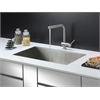 Ruvati RVC2605 Stainless Steel Kitchen Sink and Stainless Steel Faucet Set