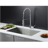 RVC2606 Stainless Steel Kitchen Sink and Chrome Faucet Set