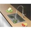 Ruvati RVC2609 Stainless Steel Kitchen Sink and Stainless Steel Faucet Set
