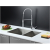 Ruvati RVC2611 Stainless Steel Kitchen Sink and Chrome Faucet Set