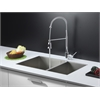 RVC2616 Stainless Steel Kitchen Sink and Chrome Faucet Set