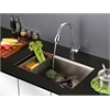 RVF1226K1CH Pullout Spray Kitchen Faucet with Soap Dispenser - Polished Chrome