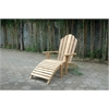 Anderson Teak Adirondack With Ottoman