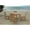 Anderson Teak Square Dining  5 Piece Set