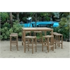 New Montego Chairs and Bar Table 9 Piece Set