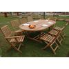 Oval Extension Dining 7 Piece Set