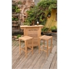 Montego Chairs and Bar Table 3 Piece Set