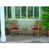 Anderson Teak Bahama Chairs and Side Table 3 Piece Set