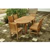 "78"" Oval Extension Dining 7 Piece Set"