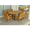 """87"""" Oval Extension Dining 9 Piece Set"""