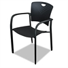 BALT Oui Stack Chair, Polypropylene Back/seat, 2 Chairs/Carton