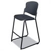 BALT Stacking Stool, 21-1/2w x 24d x 43-3/4h, Black