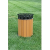 Frog Furnishings 12 Gal. Cedar Jamestown Receptacle