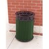 Frog Furnishings 12 Gal. Green Jamestown Receptacle