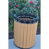 Frog Furnishings 20 Gal. Cedar Jamestown Receptacle