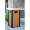 Frog Furnishings 32 Gal. Cedar Ridgeview Receptacle