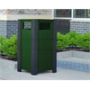 32 Gal. Green Ridgeview Receptacle