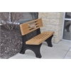 Frog Furnishings 4 ft. Cedar Ariel Bench