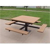 Frog Furnishings 4 ft. Cedar T-Table
