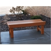 Frog Furnishings 6 ft. Cedar Garden Bench