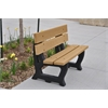 Frog Furnishings 4 ft. Cedar Petrie Bench