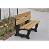 4 ft. Cedar Petrie Bench