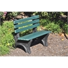 6 ft. Green Comfort Park Ave Bench