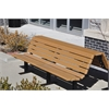 Frog Furnishings 6 ft. Cedar Douglas Bench
