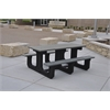 Frog Furnishings 6 ft. Gray Park Place Table