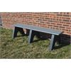 Frog Furnishings 8 ft. Gray Sport Bench
