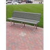 8 ft. Gray St. Pete Bench