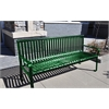 Frog Furnishings 6 ft. Green Aspen Bench