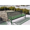 Frog Furnishings 6 ft. Green Blair Bench