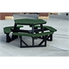 Frog Furnishings 6 ft. Green Hex Table