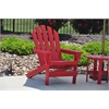 Frog Furnishings Red Cape Cod Chair