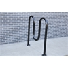 Frog Furnishings 3 Loop, Black, Surface Bike Rack