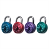 X-treme Series Combination Padlock - 3 Digit - Master Keyed - Stainless Steel Body - Assorted