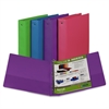 "Samsill Fashion Assorted Value Storage Binder - Letter - 8.50"" x 11"" - 2"" Capacity - 1 Each - Assorted"