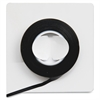 "Self-stick Vinyl Chart Tape - 0.13"" Width x 28.50 ft Length - Vinyl - Residue-free - 1 / Roll - Black"