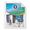 "Business Source Ten Pkt Top Loading Sheet Protectors - 11"" Height x 9"" Width - 2 mil Thickness - For Letter 8.50"" x 11"" Sheet - Ring Binder - Rectangular - Clear - Polypropylene - 1 Each"