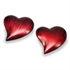 Modern Day Accents Corazon LG Heart Paperweight - Set of 2