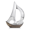 Modern Day Accents Velero Dark Hull Sailboat