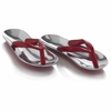 Modern Day Accents Chancla Rojo Red Sandals - Pair
