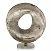 Modern Day Accents Brecha Disc Hole Sculpture
