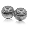 Modern Day Accents Raya Striped Sphere/4in - Set of 2